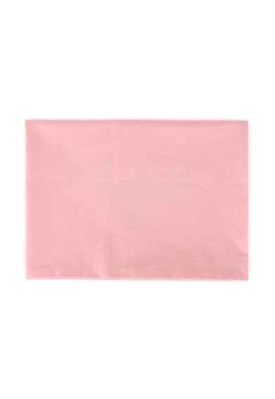 Leunelle Cearsaf de pat roz din bumbac ranforce cu elastic