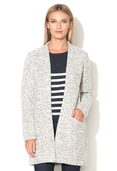 Cardigan gri melange fara inchidere Monday de la Only