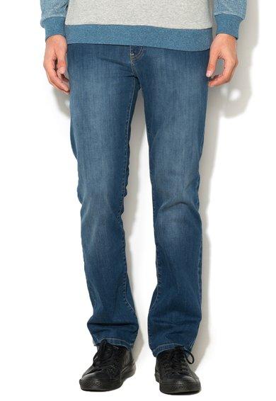 FashionDays.ro: Jeansi conici slim fit albastri Terry Big Star