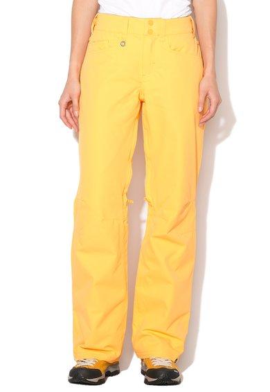 Pantaloni galben sofran pentru sporturi de iarna de la Roxy