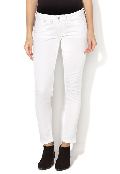 Pepe Jeans London Jeansi albi slim fit Ripple