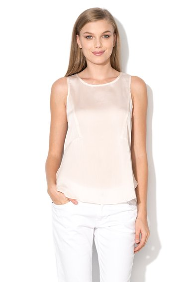Pepe Jeans London Top crem semitransparent Lilith