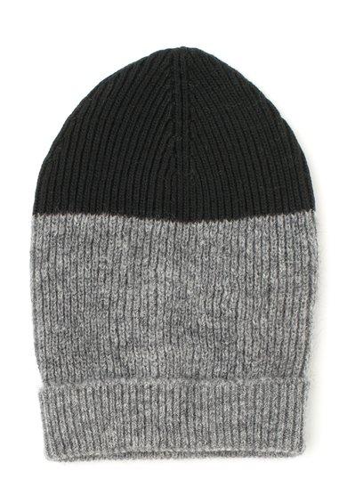 FashionDays.ro: Caciula tricotata gri melange cu negru United Colors Of Benetton
