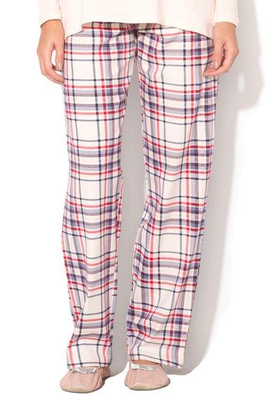 Pantaloni de casa multicolori in carouri de la Skiny