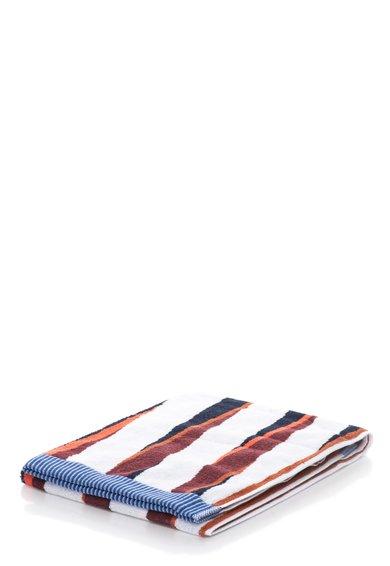FashionDays.ro: Prosop de baie multicolor cu model in dungi Stripy Kenzo Maison