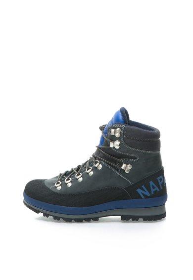 Ghete trekking negru cu albastru impermeabile Hans de la Napapijri