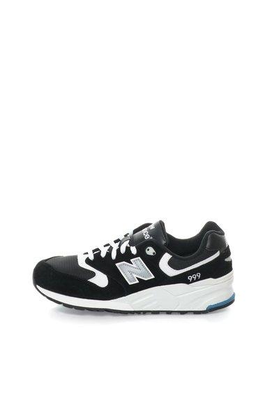 New Balance Pantofi sport negru cu alb 999