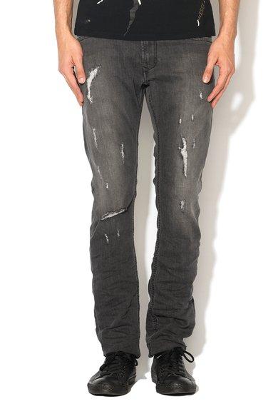 Diesel Jeansi slim fit skinny gri inchis Thavar