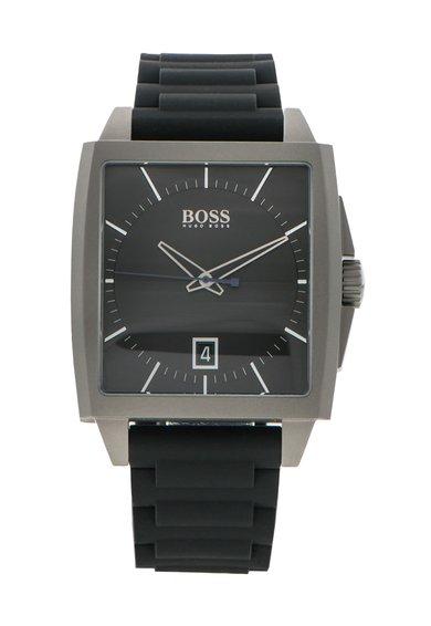 FashionDays.ro: Ceas negru cu o curea din silicon Modern Hugo Boss