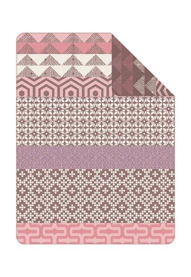 FashionDays.ro: Patura multicolora cu model geometric Ringsted Ibena
