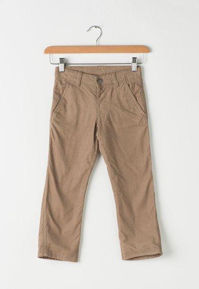 Pantaloni maro deschis de reiat de la United Colors Of Benetton