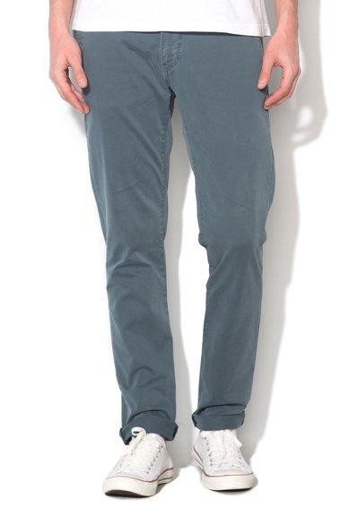 New Zealand Auckland Pantaloni conici albastru petrol Napier
