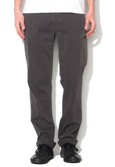 New Zealand Auckland Pantaloni conici gri inchis Larry Bay