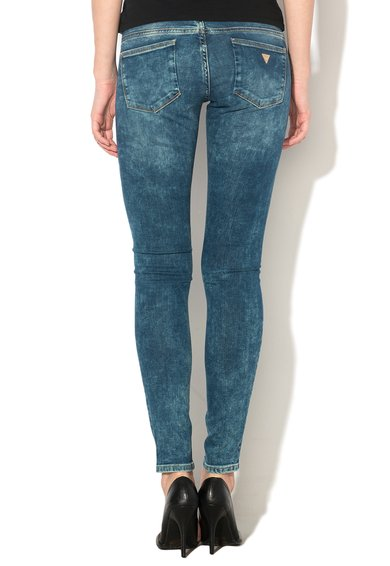 GUESS JEANS Jeansi slim fit albastri Femei image_2