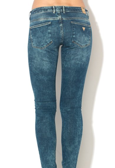 GUESS JEANS Jeansi slim fit albastri Femei image_5