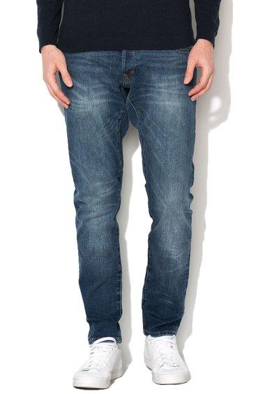 FashionDays.ro: Jeansi conici albastru inchis EDC by ESPRIT