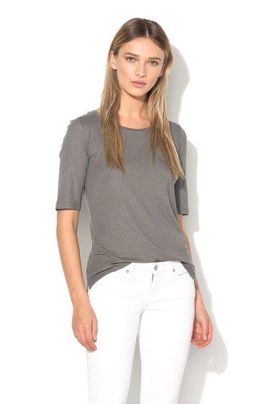 Vero Moda Bluza gri cu striatii Iris