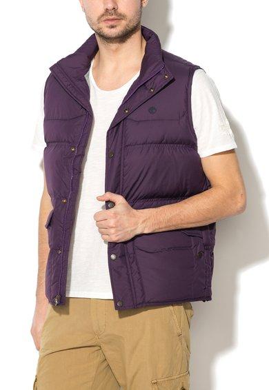 Vesta violet matlasata cu umplutura de puf de la Timberland