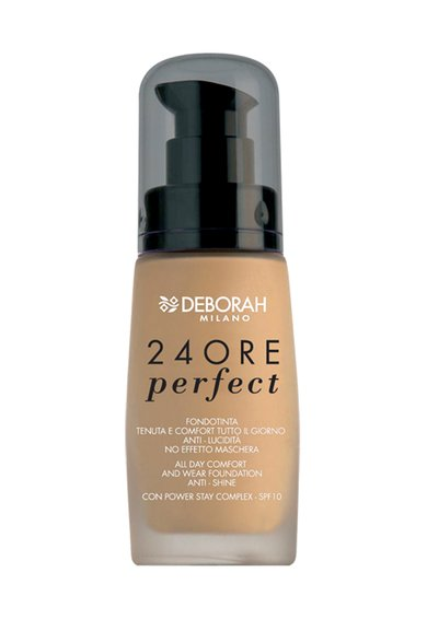Fond de ten 24Hours Perfect 03-Caramel Beige Anti-Shine de la Deborah