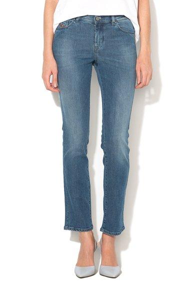 Diesel Jeansi albastri regular fit drepti Sandy