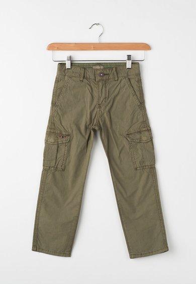 Napapijri Pantaloni cargo verde oliv Moto