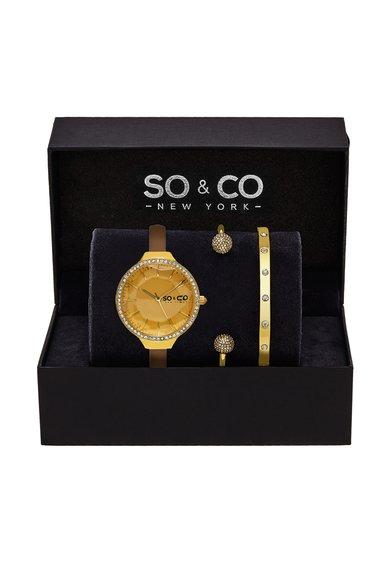 SOCO New York Set auriu cu ceas si bratari SoHo – 3 piese