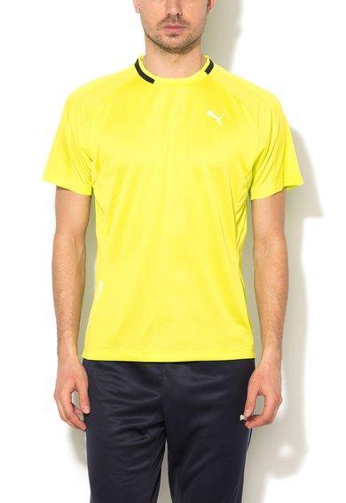 Tricou verde chartreuse pentru alergare de la Puma