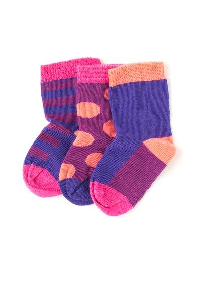 Set multicolor de sosete – 3 perechi de la MALA