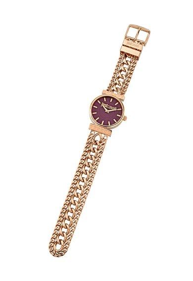 FashionDays.ro: Ceas auriu rose cu purpuriu Just Couture Just Cavalli