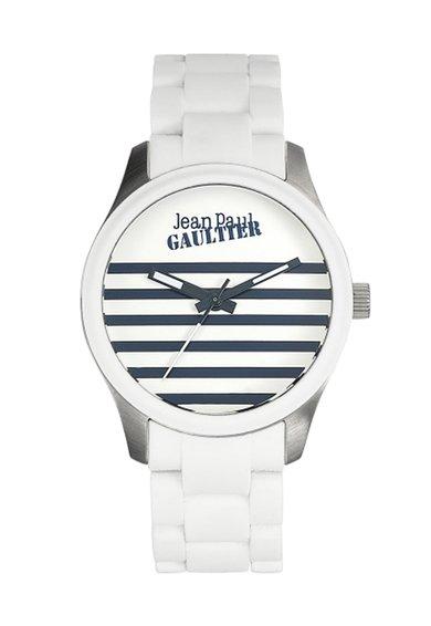 Jean Paul Gaultier Ceas alb Navy