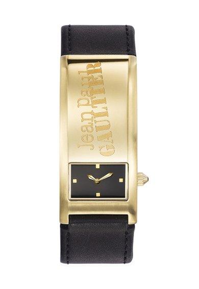 Ceas negru cu auriu Identite de la Jean Paul Gaultier