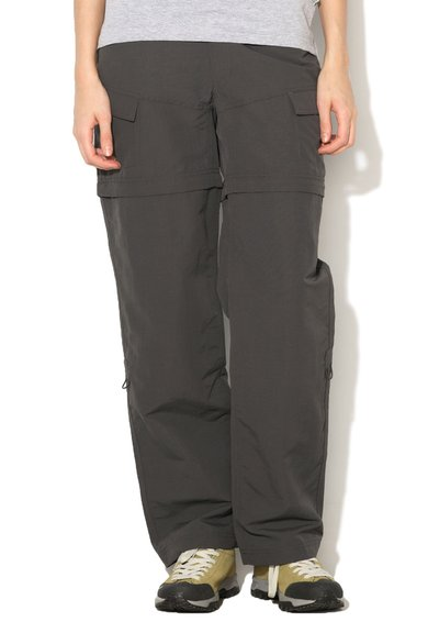 FashionDays.ro: Pantaloni convertibili gri inchis Paramount The North Face