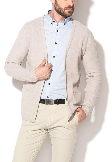 FashionDays.ro: Cardigan grej fara inchidere Bolton Selected Homme
