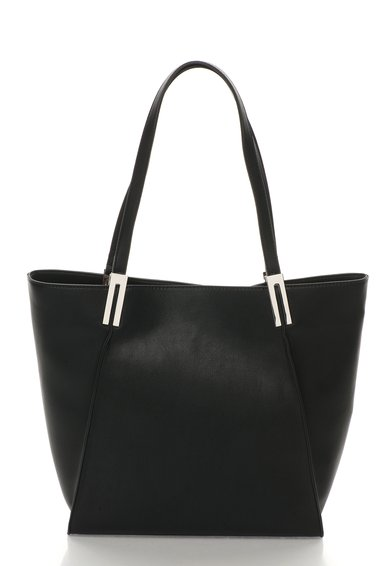 FashionDays.ro: Geanta tote neagra de piele sintetica ESPRIT