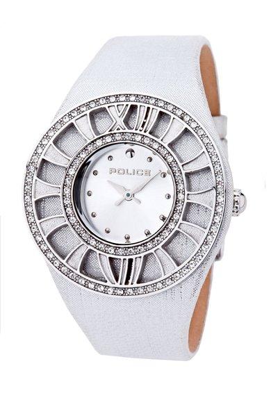FashionDays.ro: Ceas gri perlat cu argintiu Treasure Police