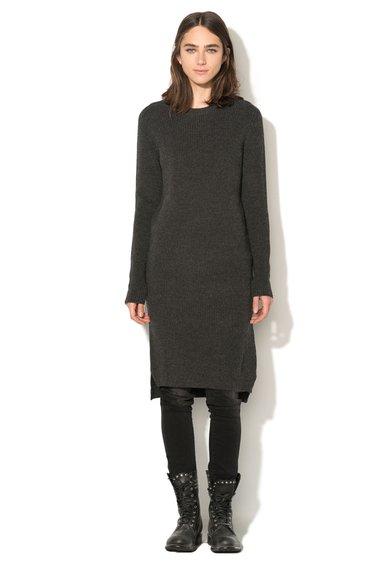 FashionDays.ro: Rochie tip pulover gri inchis Madaifar Diesel Black Gold