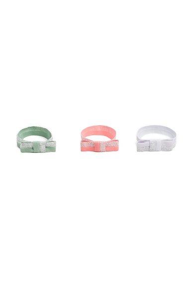 Set de elastice de par multicolore Candy – 3 piese de la MANGO