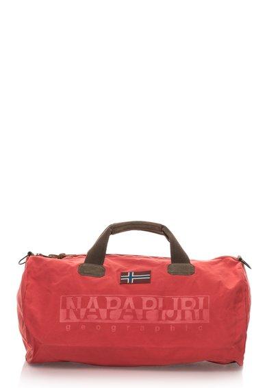 Geanta de voiaj rosu cu maro si garnituri Volcano de la Napapijri