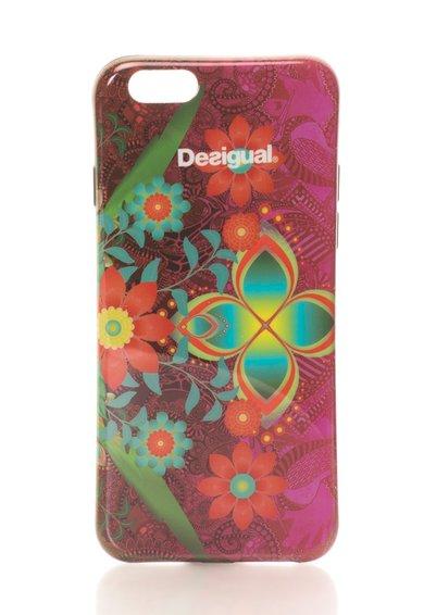 Desigual Carcasa pentru iPhone 6 multicolora cu flori Kaitlin