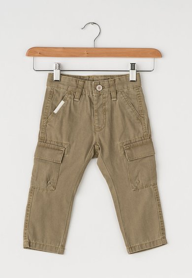 Pantaloni cargo maro de la United Colors Of Benetton