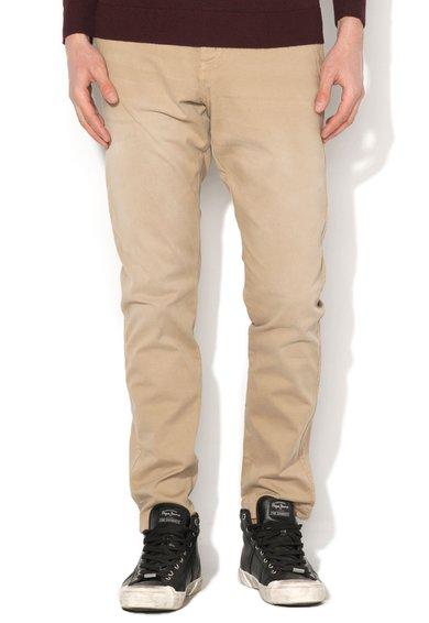 JackJones Pantaloni bej regular fit Cody