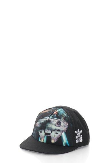 adidas Sapca neagra cu imprimeu Star Wars JNR SW MF