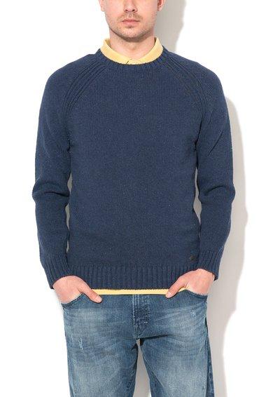 FashionDays.ro: Pulover bleumarin stins cu aspect uzat ESPRIT
