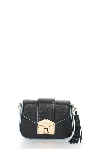 Juicy Couture Geanta neagra de piele Mulholland