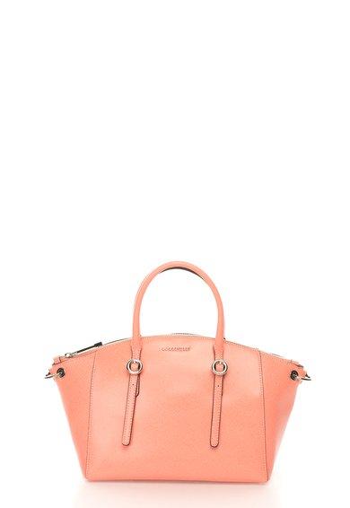 FashionDays.ro: Geanta mica roz somon de piele saffiano COCCINELLE