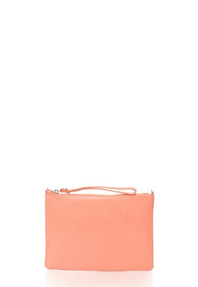 FashionDays.ro: Geanta plic roz de piele saffiano cu bareta COCCINELLE