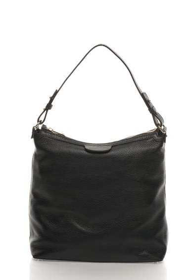 FashionDays.ro: Geanta hobo neagra de piele Zee Lane Collection