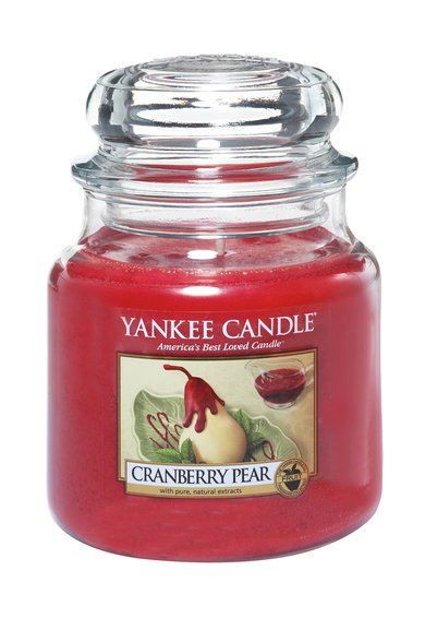FashionDays.ro: Lumanare parfumata medie in borcan Cranberry Pear Yankee Candle