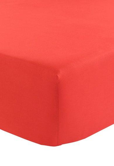 Olivier Desforges Cearsaf rosu cu elastic Alcove