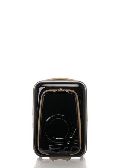 FashionDays.ro: Geanta de voiaj neagra pentru cabina United Colors Of Benetton